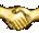 Награда: Золотое рукопожатие -