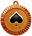Медаль:  - Причина вручения: Третье место в VIII внутриклановом турнире `Пиковая дама`